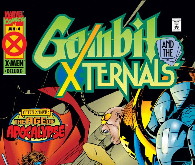 Gambit and the X-Ternals (1995) #4
