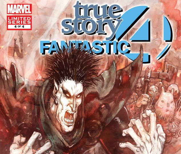 FANTASTIC FOUR: TRUE STORY (2008) #4