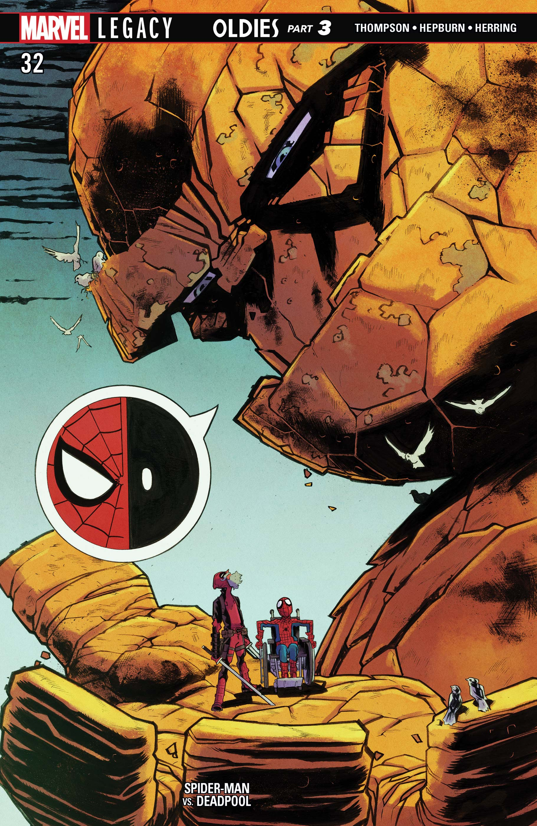 Man 32 Indicted In Alleged Misconduct With 14 Year Old: Spider-Man/Deadpool (2016) #32