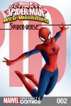 cover from Marvel Universe Ultimate Spider-Man: Spider-Verse Infinite Comic (2018) #2