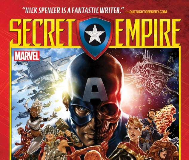 cover from SECRET EMPIRE TPB (2018) #1