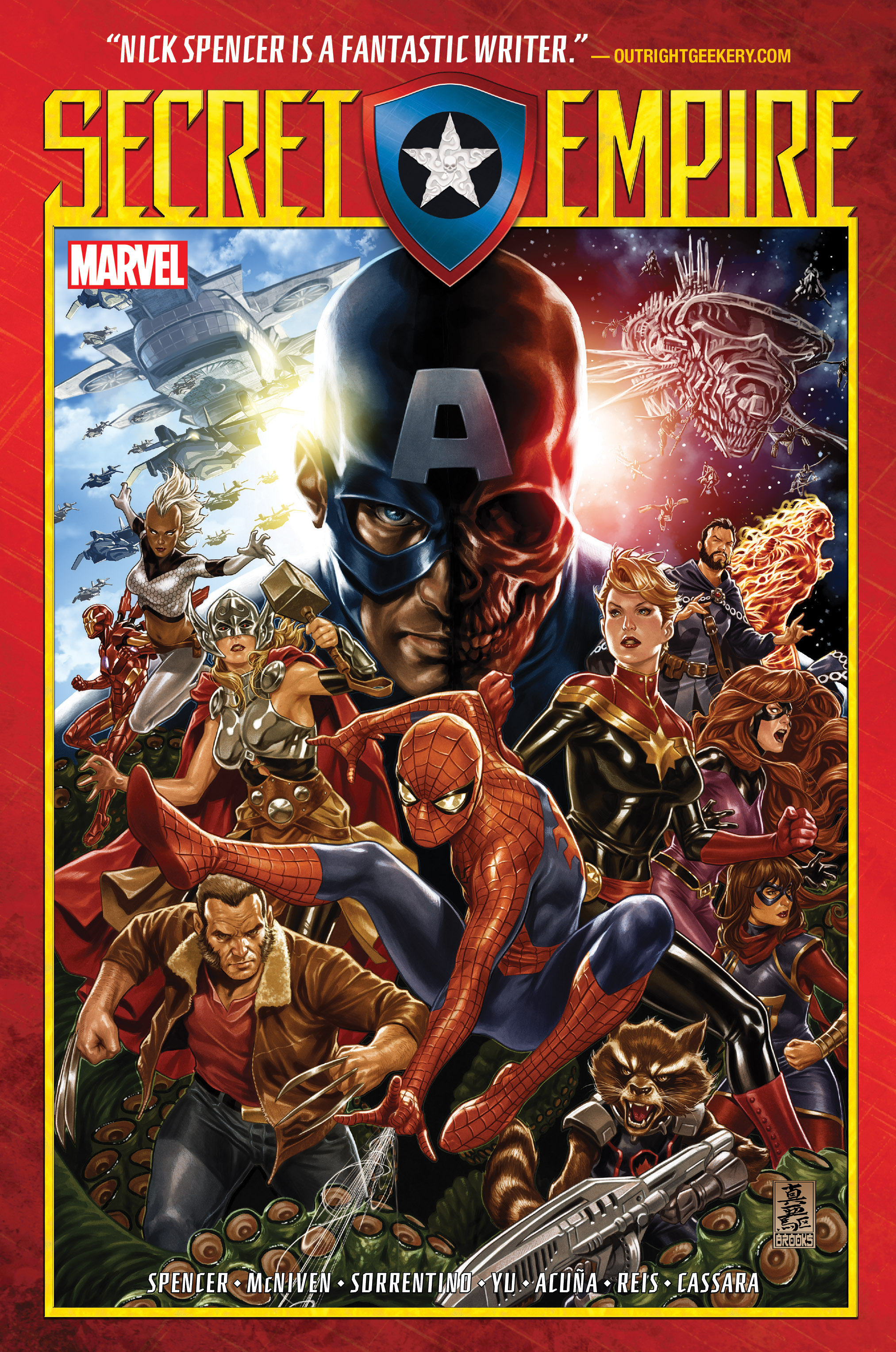 Secret Empire (Trade Paperback)