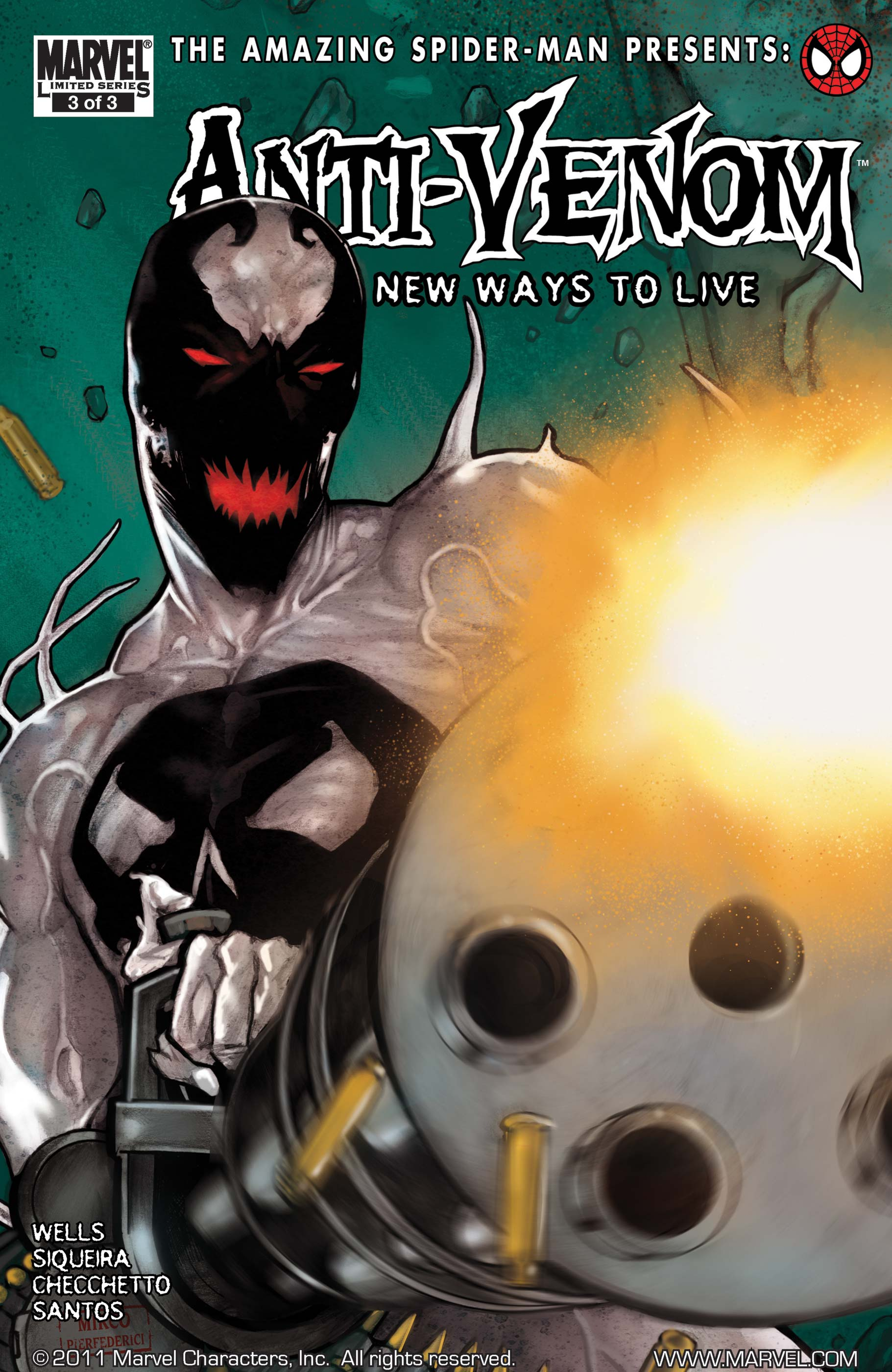 Amazing Spider-Man Presents: Anti-Venom - New Ways to Live (2009) #3