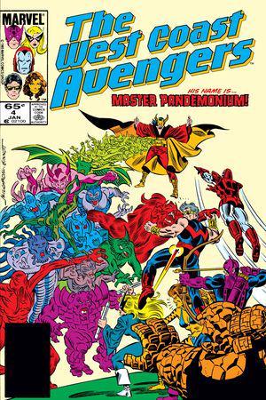 West Coast Avengers #4