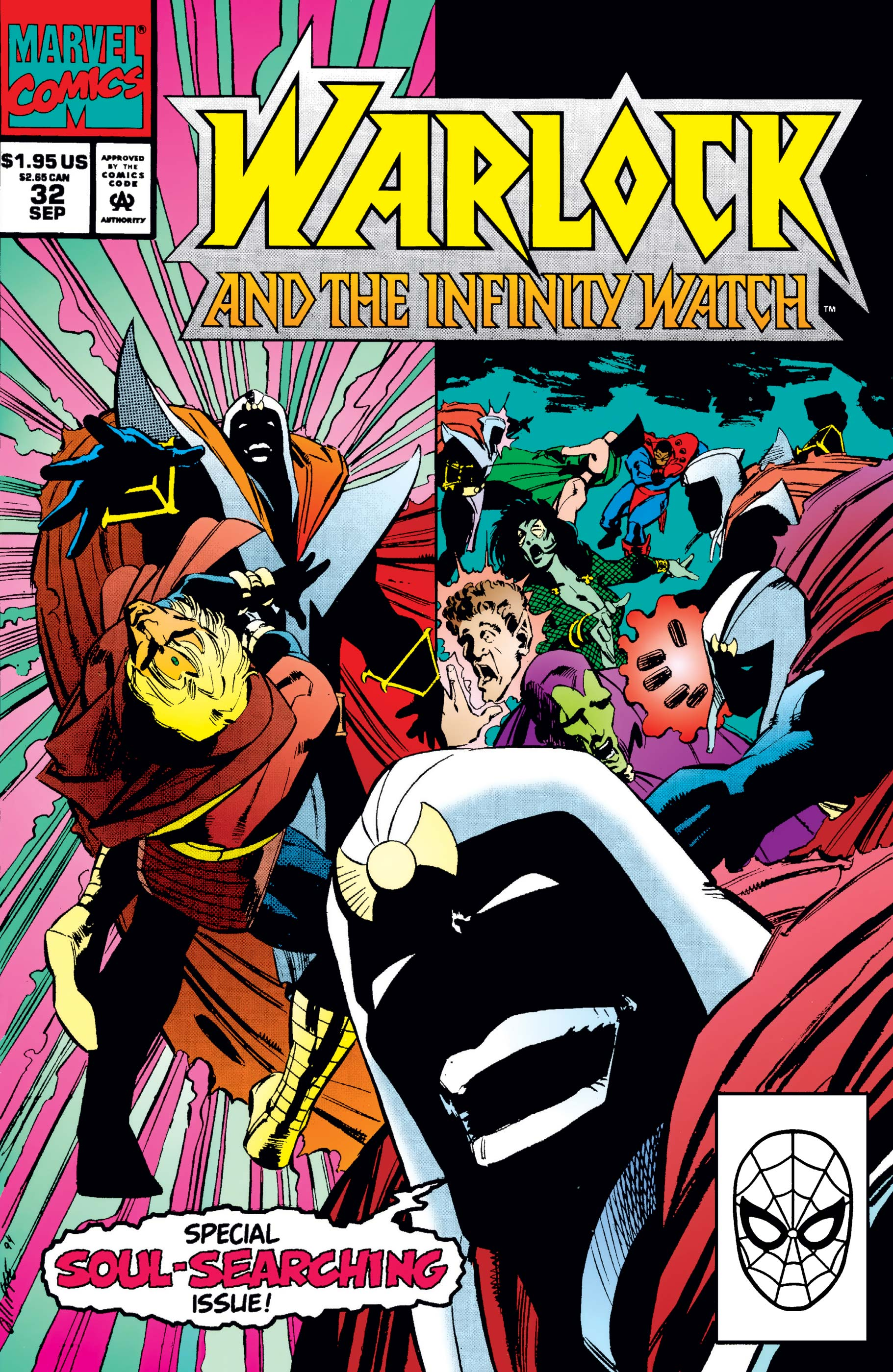 Warlock and the Infinity Watch (1992) #32