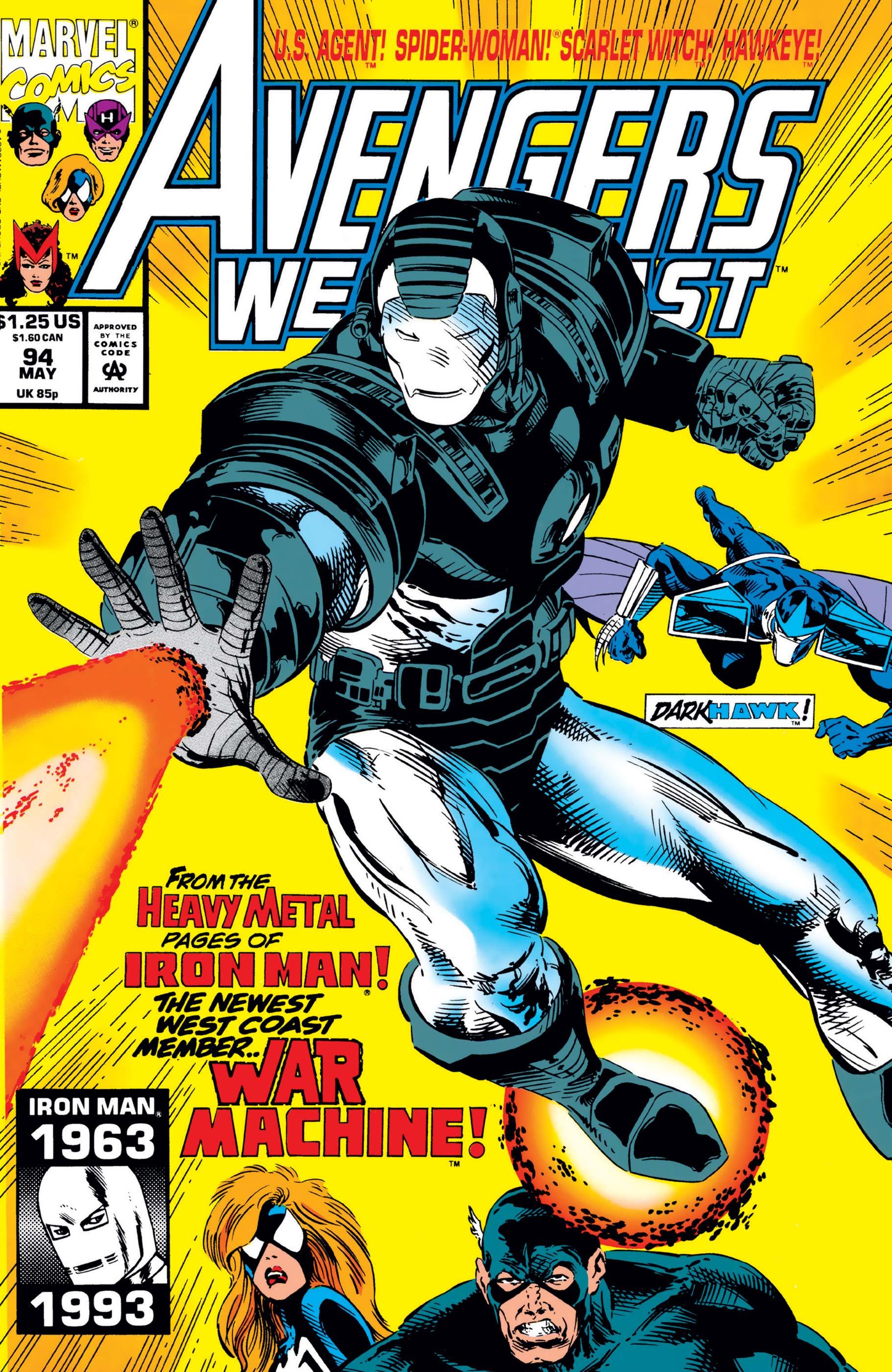 West Coast Avengers (1985) #94