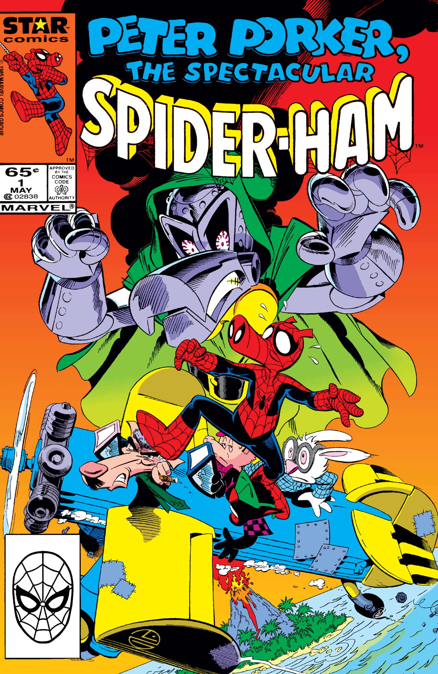 Peter Porker, the Spectacular Spider-Ham (1985) #1