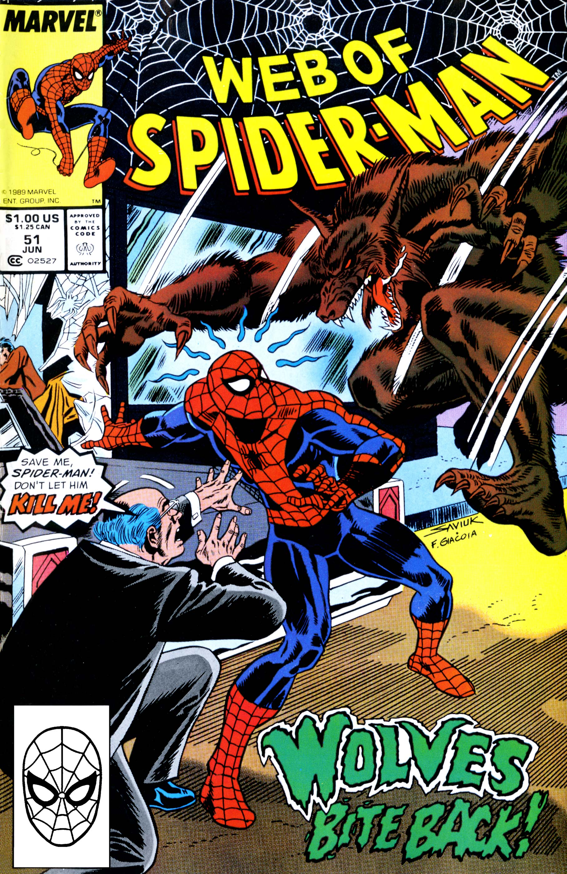 Web of Spider-Man (1985) #51