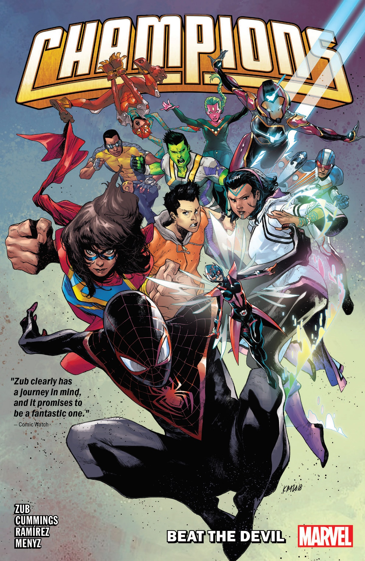 Champions By Jim Zub Vol.1: Beat The Devil (Trade Paperback)