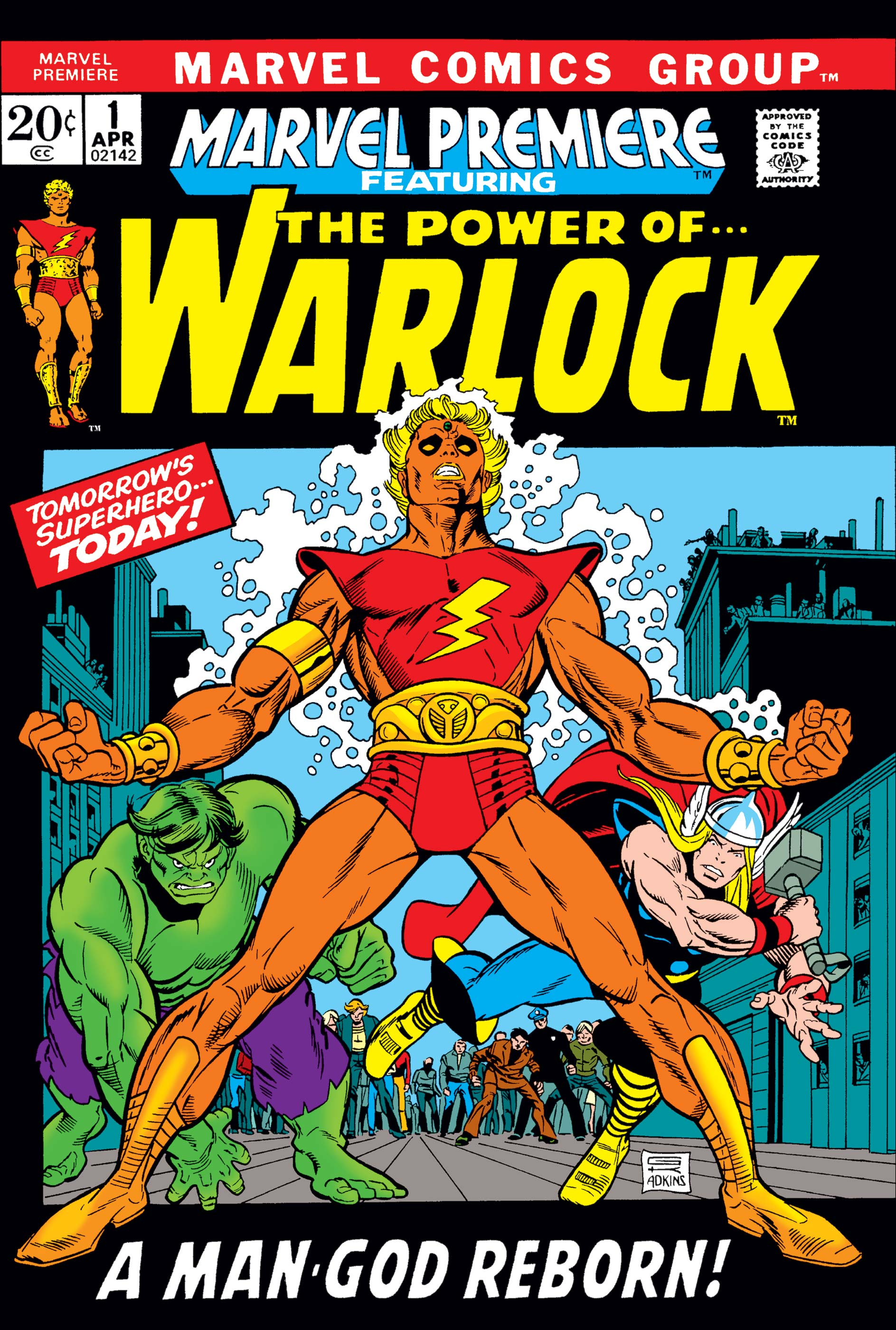Marvel Premiere (1972) #1