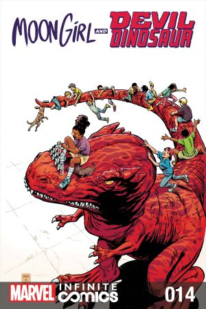 Moon Girl and Devil Dinosaur Infinite Comic #14