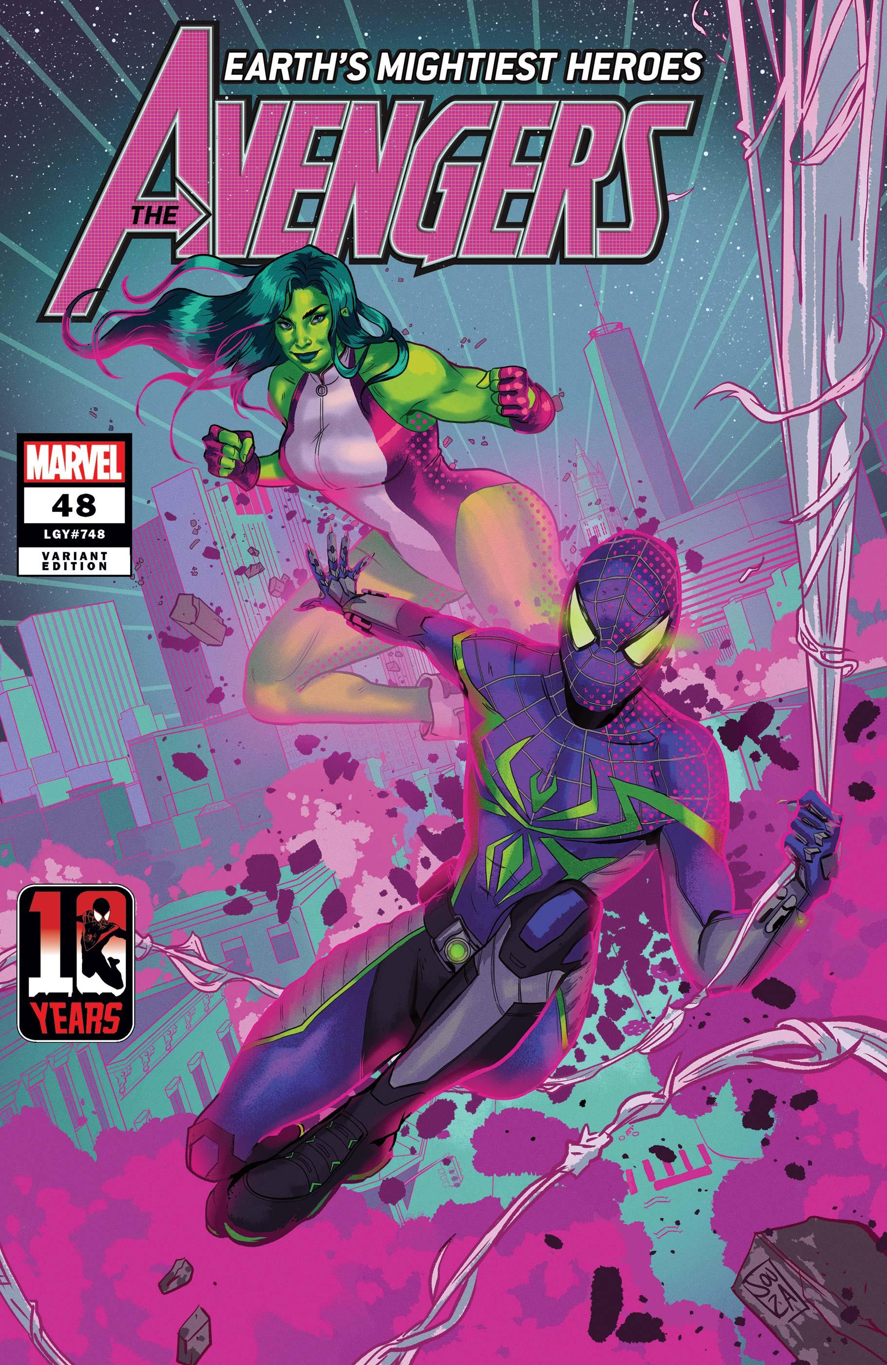 Avengers (2018) #48 (Variant)