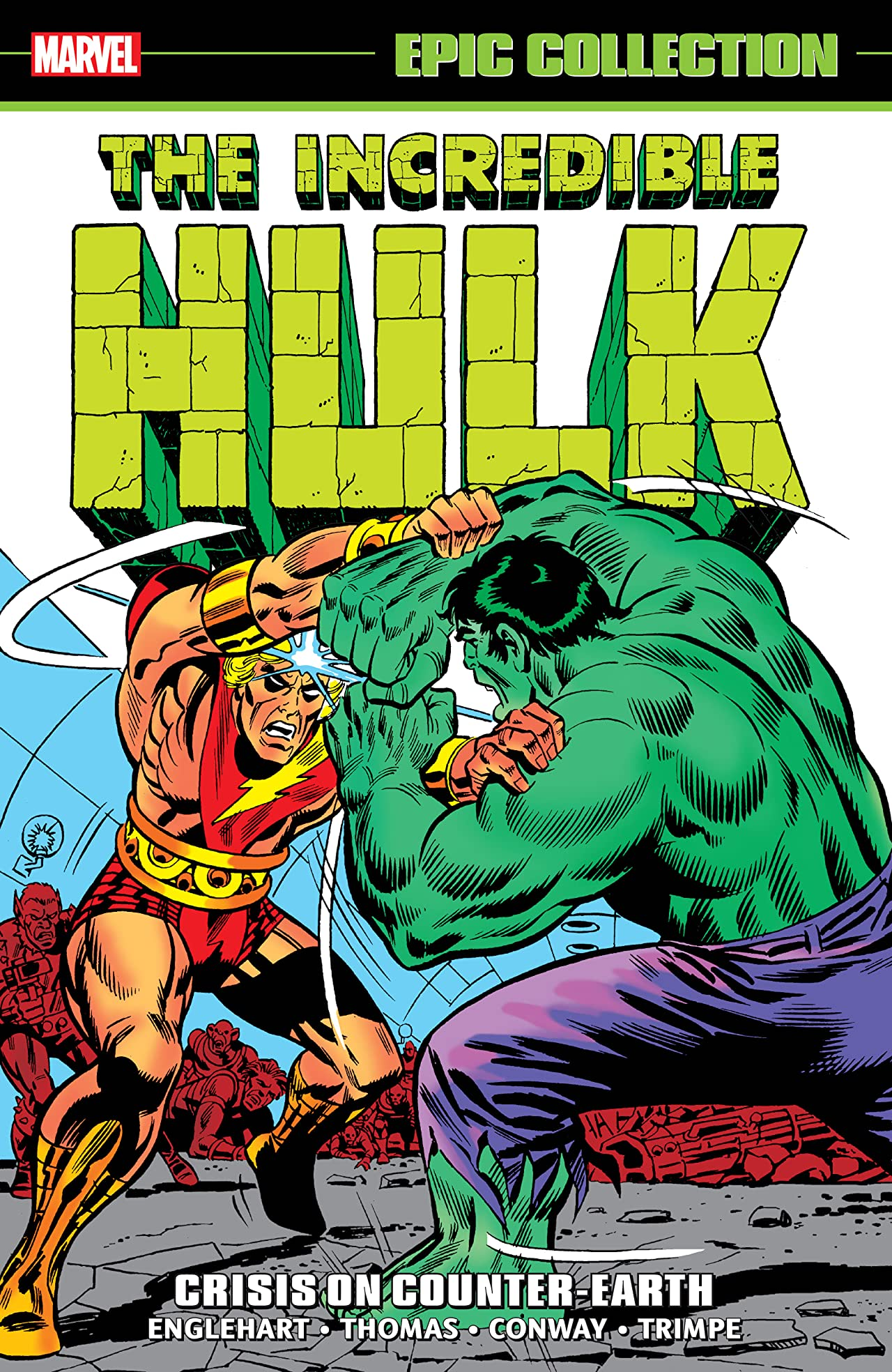 Incredible Hulk Epic Collection: Crisis On Counter-Earth (Trade Paperback)