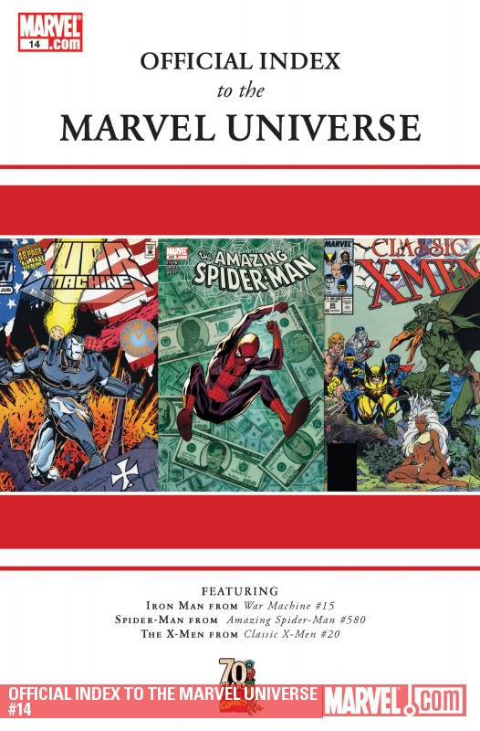 Official Index to the Marvel Universe (2009) #14