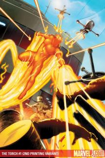 Torch (2009) #1 (2ND PRINTING VARIANT)