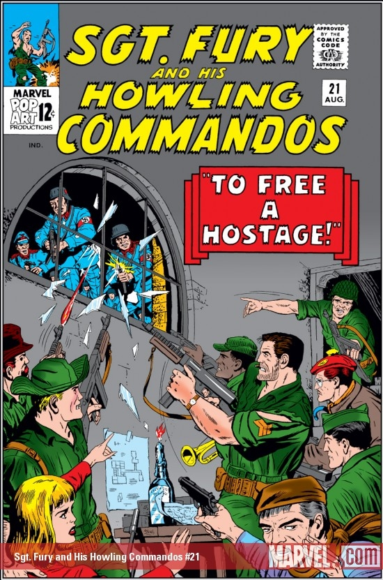 Sgt. Fury and His Howling Commandos (1963) #21