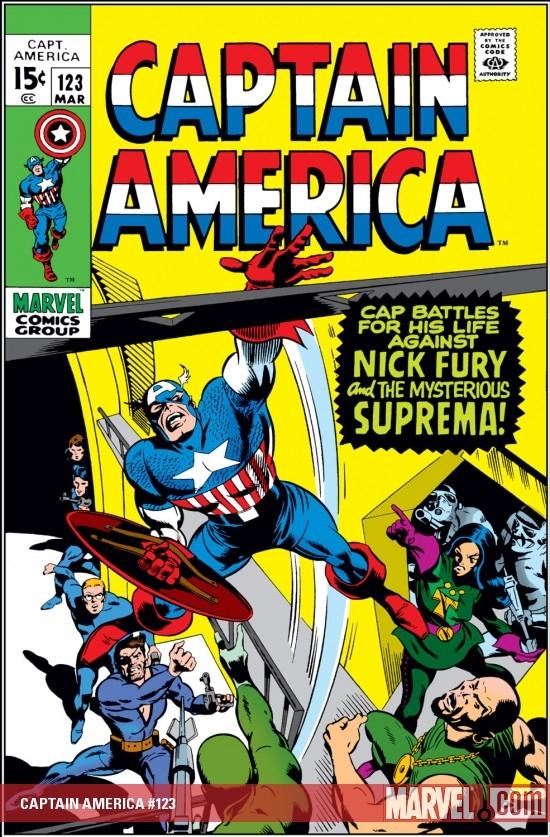 Captain America (1968) #123