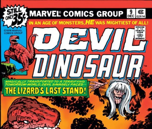 DEVIL DINOSAUR #9 COVER