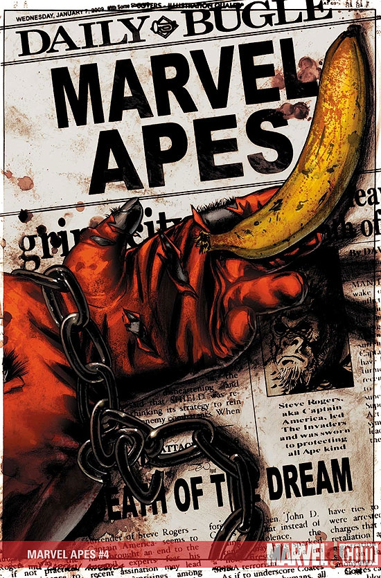 Marvel Apes (2008) #4