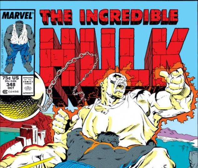 INCREDIBLE HULK #348 COVER