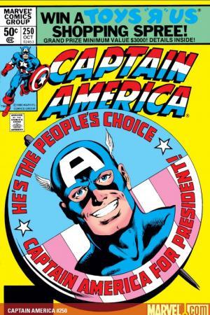 Captain America (1968) #250