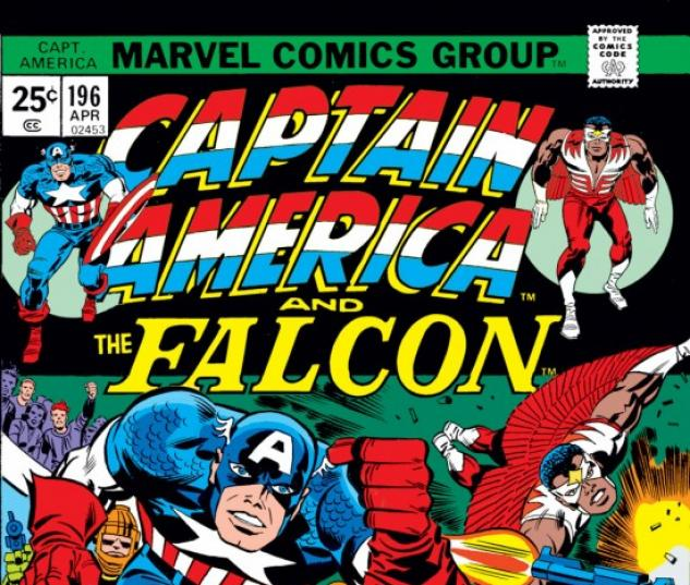 CAPTAIN AMERICA #196 COVER