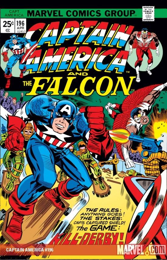 Captain America (1968) #196