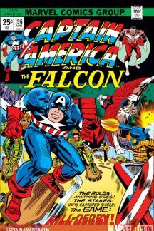 Captain America #196