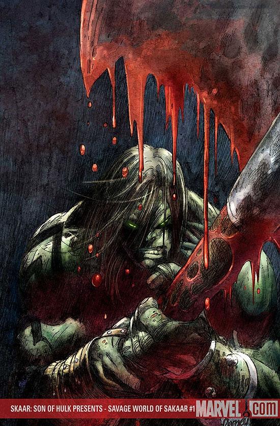 Skaar: Son of Hulk Presents - Savage World of Sakaar (2008) #1