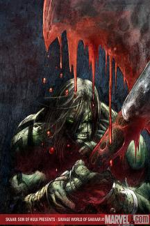 Skaar: Son of Hulk Presents - Savage World of Sakaar (2008) #1