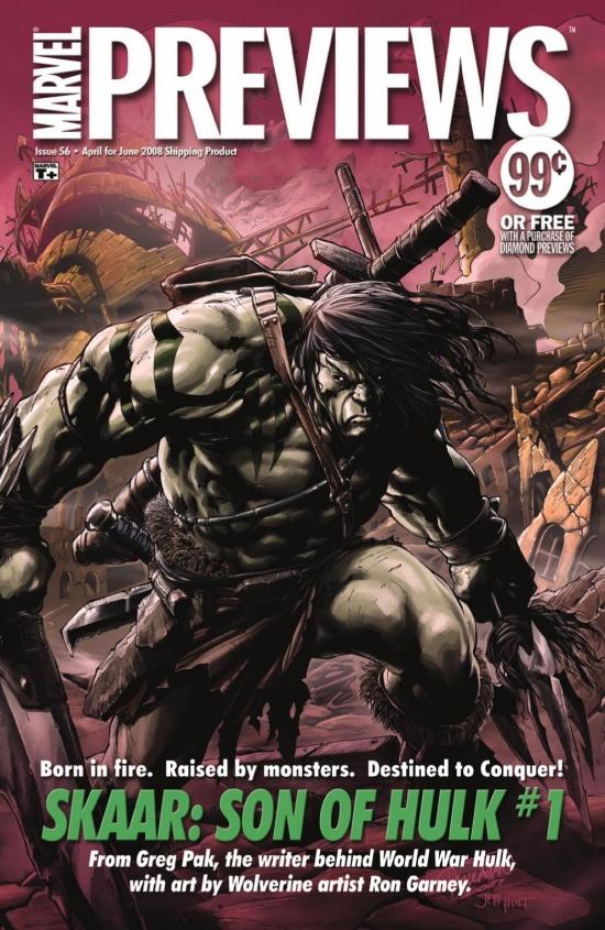 Marvel Previews (2008) #54