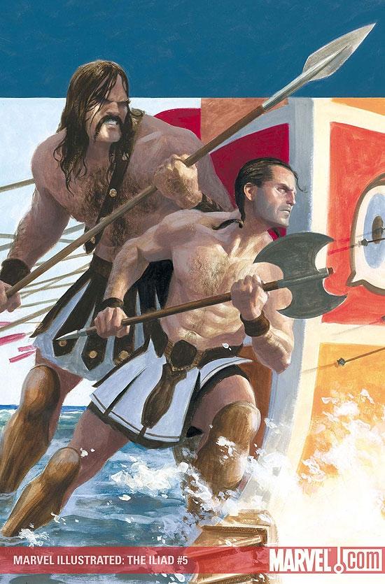 Marvel Illustrated: The Iliad (2007) #5