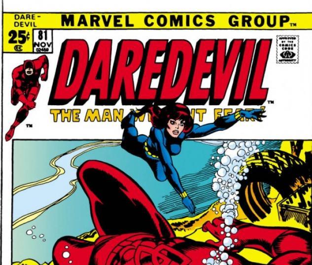 DAREDEVIL #81 COVER