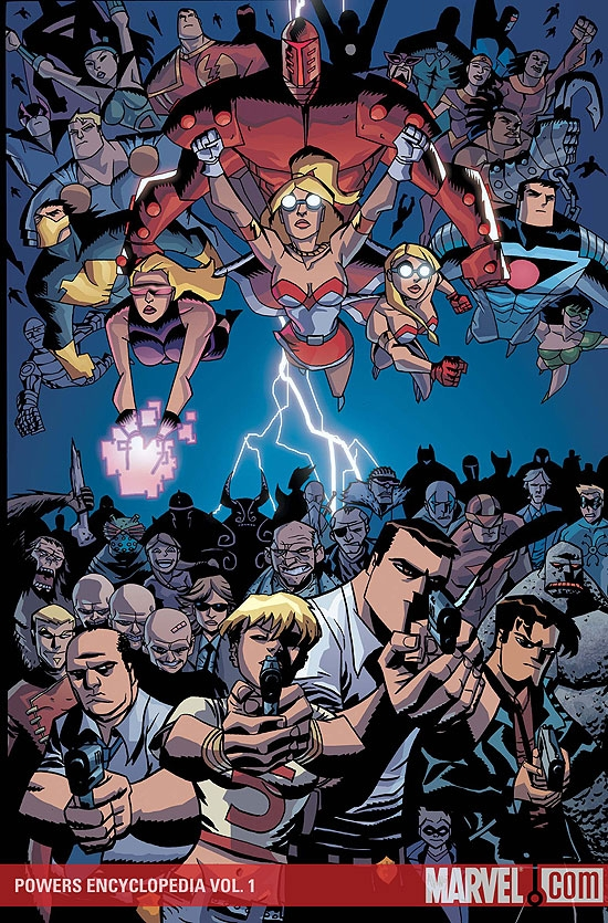 Powers Encyclopedia Vol. (2009) #1