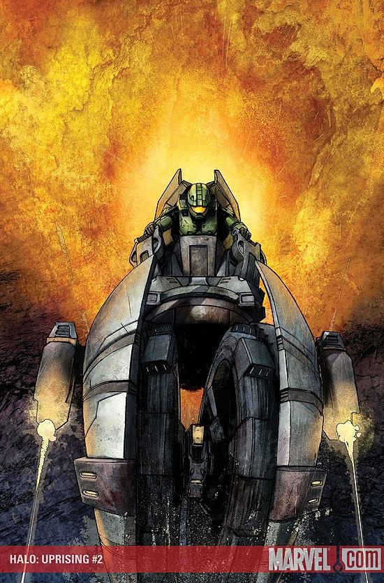 Halo: Uprising (2007) #2