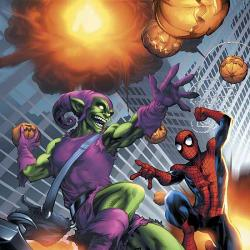 MARVEL AGE SPIDER-MAN VOL. 4: THE GOBLIN STRIKES BACK COVER