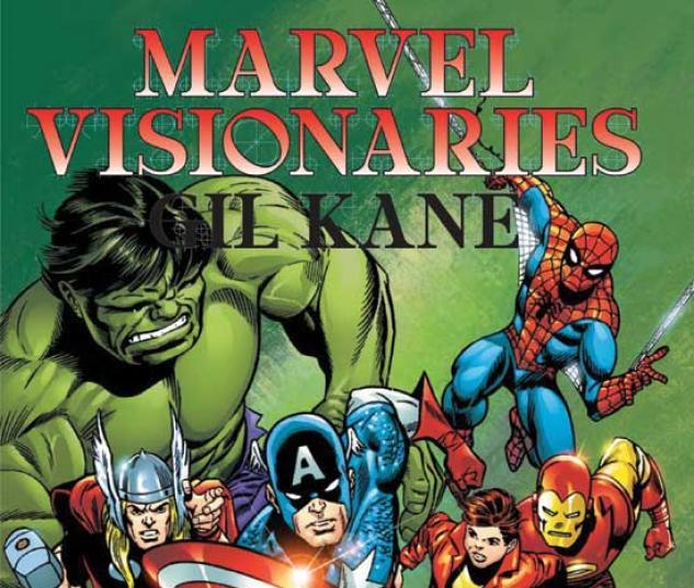 MARVEL VISIONARIES: GIL KANE TPB COVER