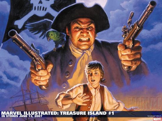 Marvel Illustrated: Treasure Island (2007) #1 Wallpaper