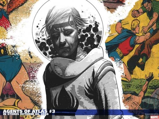 Agents of Atlas (2006) #3 Wallpaper