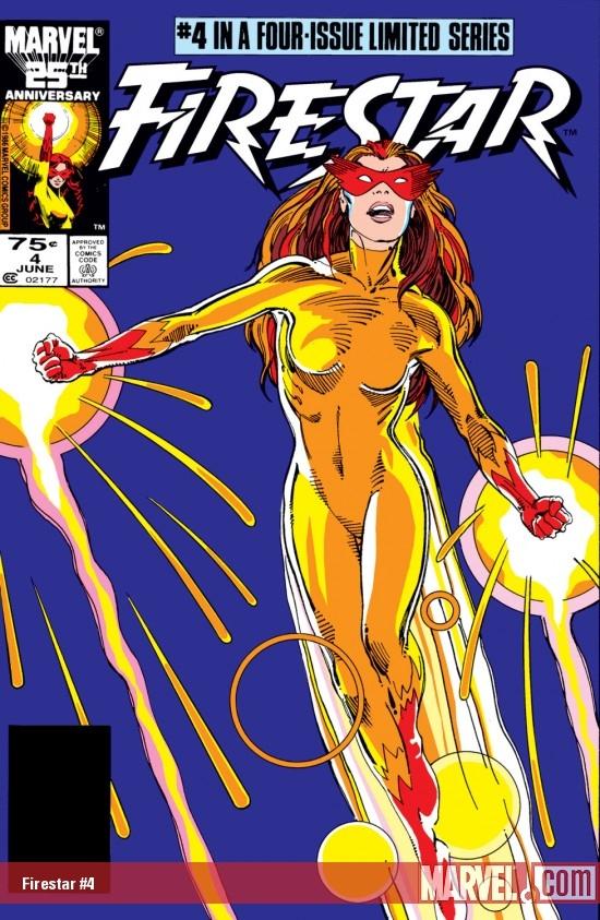 Firestar (1986) #4
