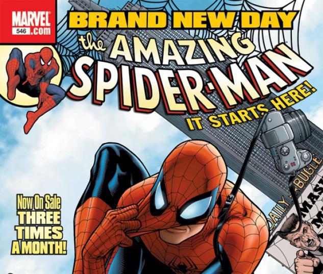 Free Comic Book Day Amazing Spider Man: Amazing Spider-Man (1999) #546