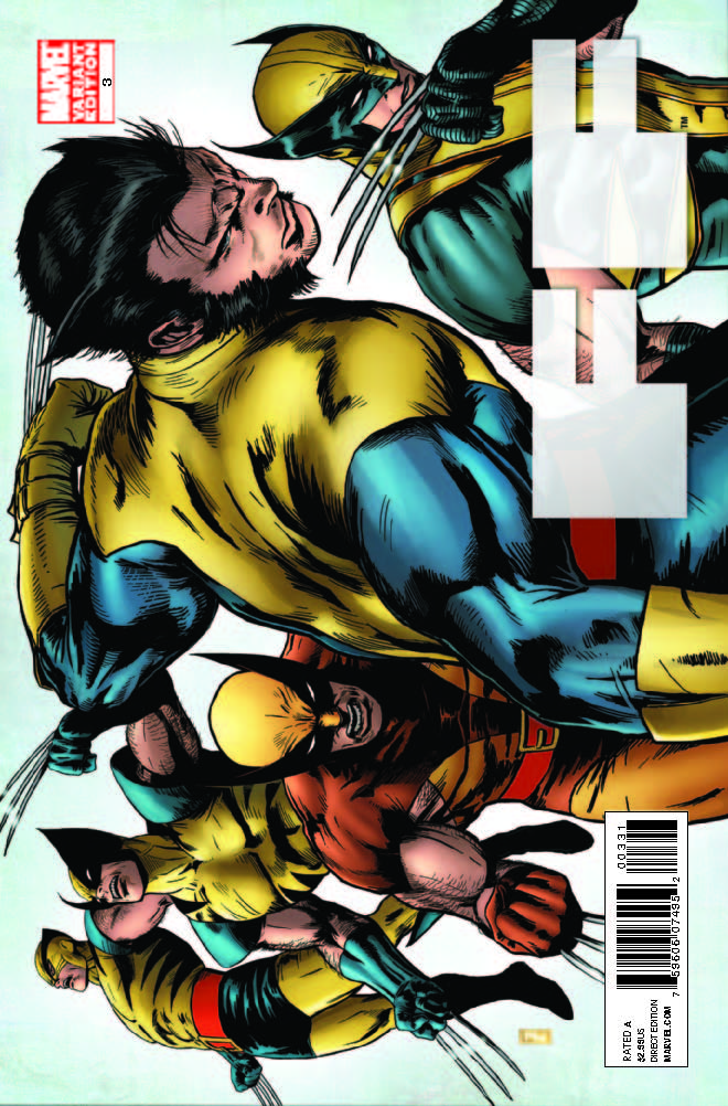 FF (2011) #3 (X-Men Art Variant   )