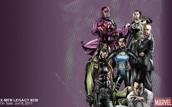 X-Men Legacy #250 Wallpaper