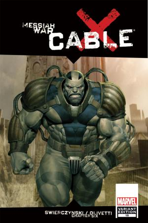 Cable (2008) #15 (MW, 50/50 Variant)