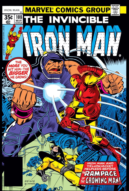 Iron Man (1968) #108
