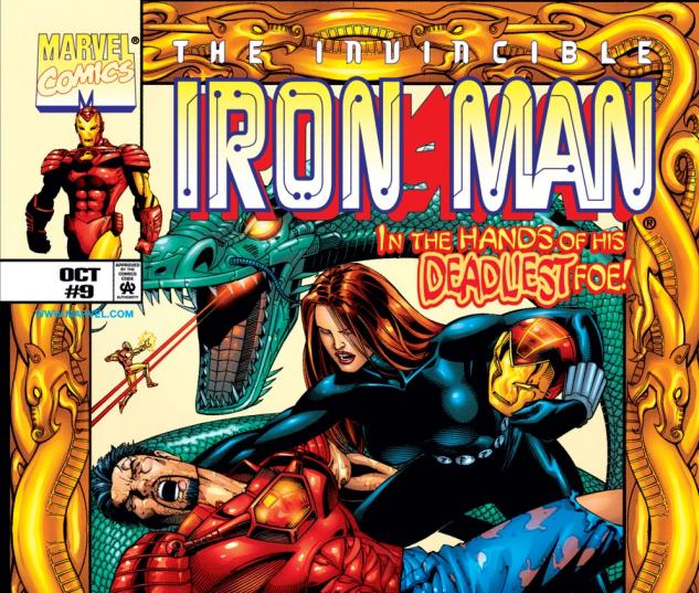 Iron Man (1998) #9 Cover