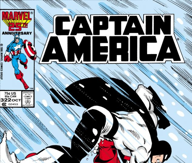 Captain America (1968) #322 Cover