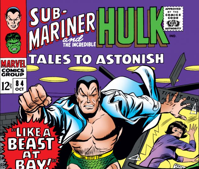 Tales to Astonish (1959) #84 Cover