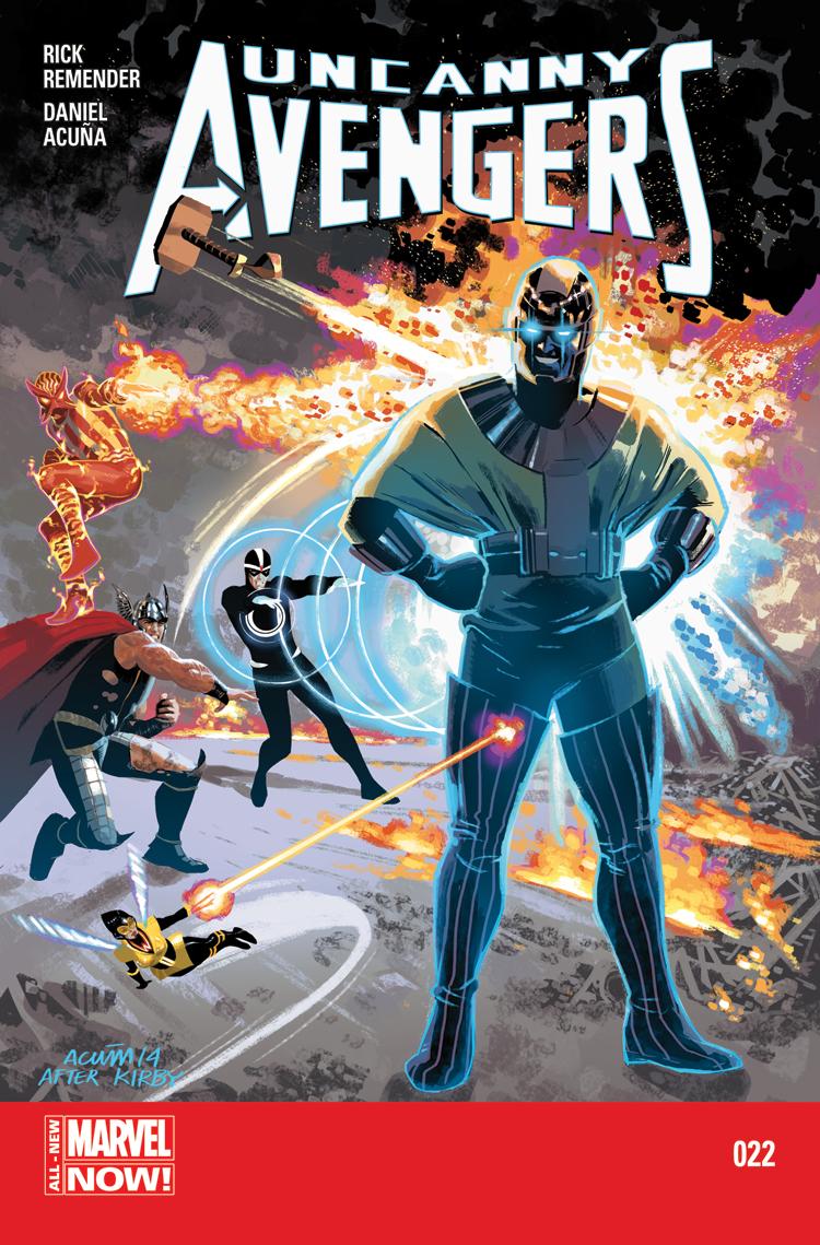 Uncanny Avengers (2012) #22