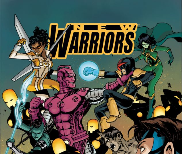 NEW WARRIORS 11 (WITH DIGITAL CODE)